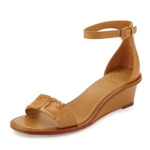 Tory Burch Marcia Leather Demi-wedges